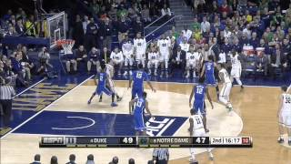 *Jerian Grant 23 Points 12 Assists VS Duke* (HD) Unbelievable Game!!