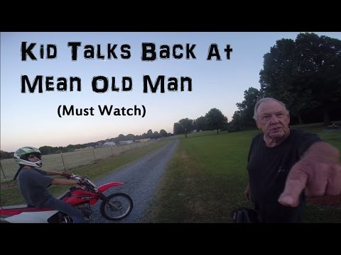 Angry Old Man Yell's At Dirtbiker's!!! (Episode - 5)