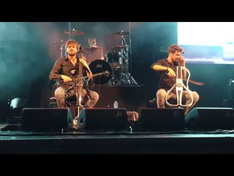 2CELLOS They Don't Care About Us Zurich (Live)