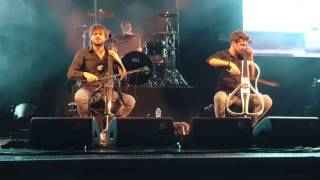 Скачать 2CELLOS They Don T Care About Us Zurich Live