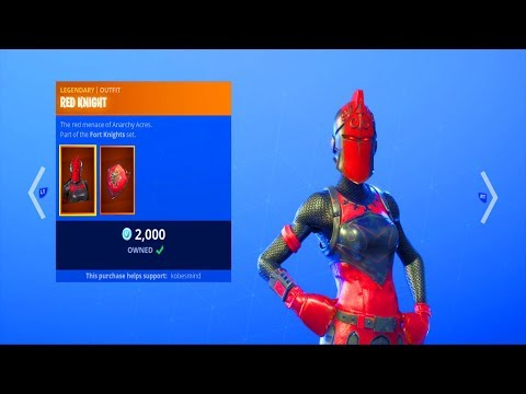 Fortnite ITEM SHOP (October 16)   Red Knight Is BACK!