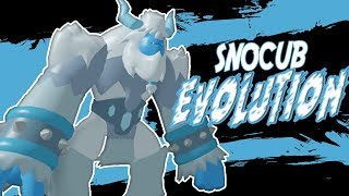 SNOCUB FINAL EVOLUTION | LOOMIAN LEGACY IN ROBLOX | iBeMaine