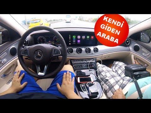 Mercedes E300 Drive Pilot Istanbul Trafiginde Yari Otonom Test Surusu Kendi Kendine Gide