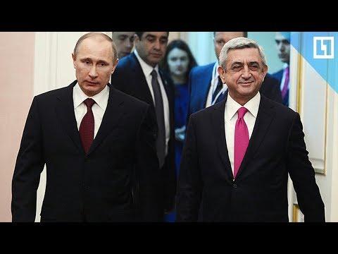 Владимир Путин и Серж Саргсян посещают Третьяковскую галерею