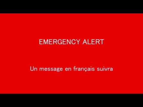Alert Ready/ EAS Nuclear Attack Canada