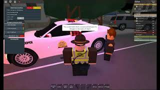 SHOTS FIRED! Summit County Highway patrol (ROBLOX)EP3