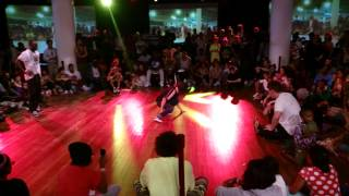 BGirl Terra & Lee vs Manny & Ladieone, Final