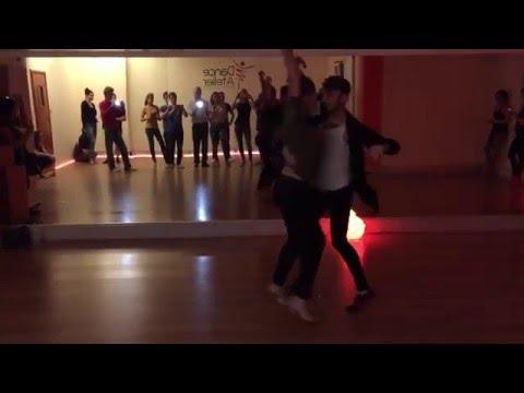 Salsa on2 Partnerwork z Barbra&Dave - Dance Atelier Gdańsk