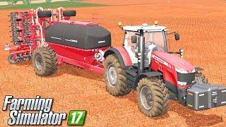Siew nowymi nabytkami - Farming Simulator 17 [PLATINUM] | #36