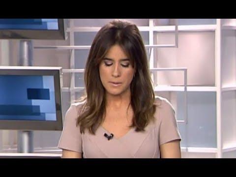 Isabel Jiménez al borde de las lágrimas en pleno directo