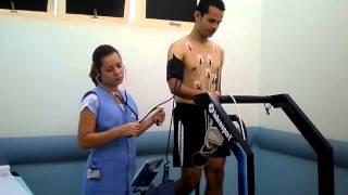Circulação doppler sanguínea de teste