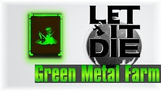 Green Metal Farm [Cheese Edition]!!   Let It Die #36   [Tutorial]