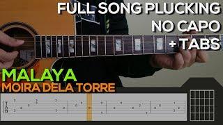 Baixar Moira Dela Torre - Malaya Guitar Tutorial [Plucking + TABS]