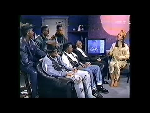 The Real..... New Edition  Awkward  Bet Interview