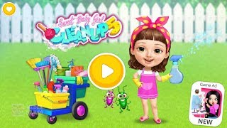 Sweet Baby Girl Fun Clean Up - Learn To Do Daily Chores And Care Of Cute Pets For Kids