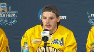Frozen Four: National Championship Postgame Press Conference