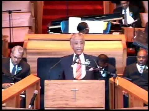 "Reverend Al Sharpton ""Don't let them steal your crown"""