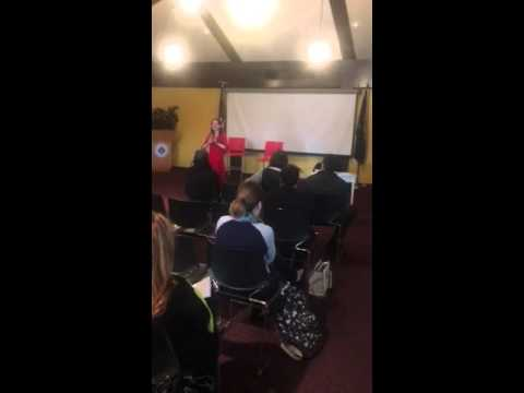 Mental health talkback at Fulton Montgomery Community College