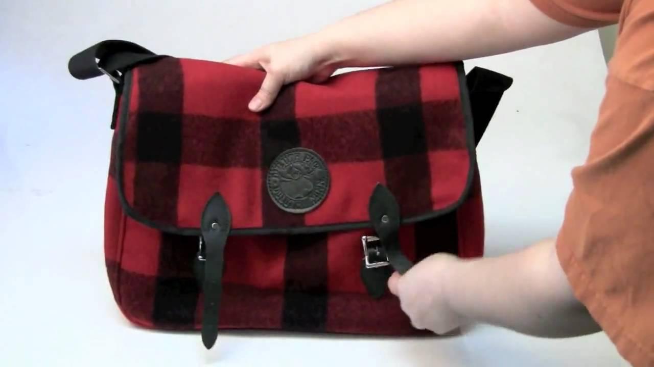 Duluth Pack Wool Laptop Book Bag