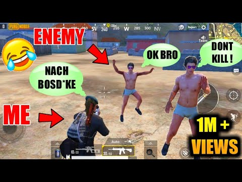 Enemy Dance In Front Of Me- PUBG Best Funny Moments