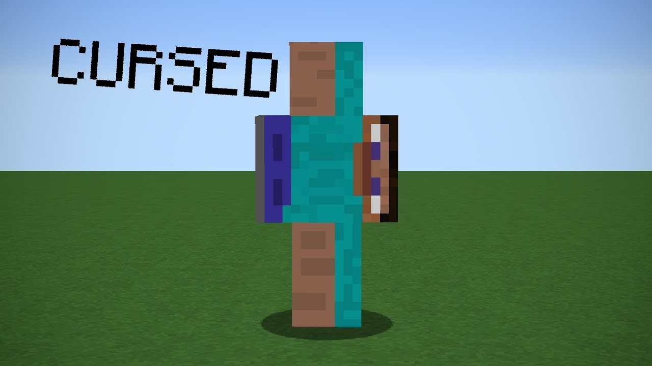 The Most Cursed Skin In Minecraft Youtube