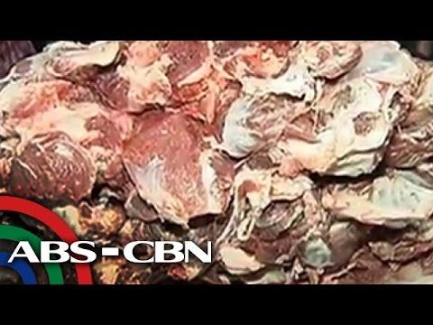 TV Patrol: 200 kilong kontaminadong karne, kumpiskado sa Quezon City