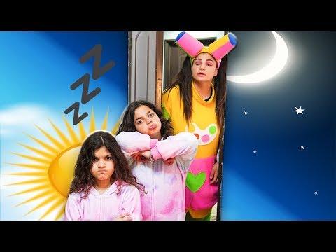 علوش ومروش - النوم  - aloush maroush sleeping