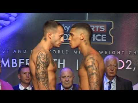GGG V BROOK UNDERCARD WEIGH IN