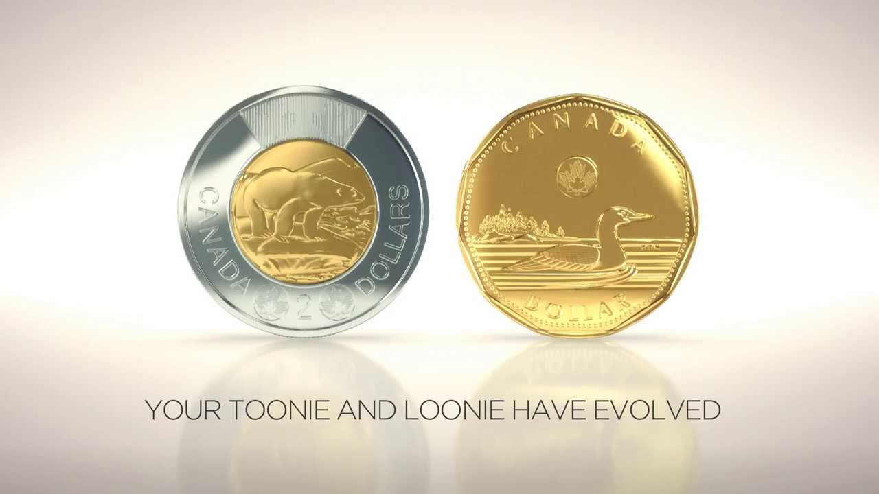 Worksheet Toonies And Loonies the loonie and toonie have evolved royal canadian mint youtube
