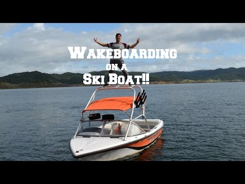 Wakeboarding on a Ski boat - What is possible?