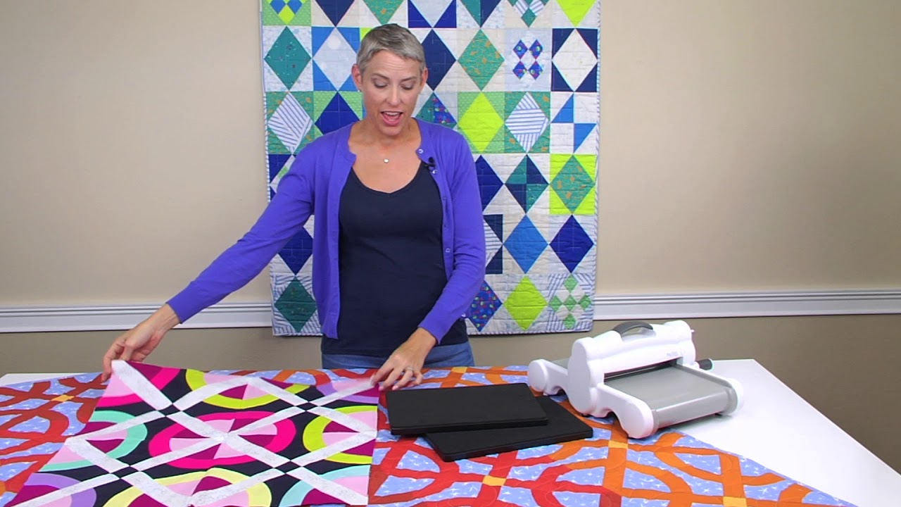 Victoria Findlay Wolfe Fall 2017 Dies Sizzix Quilting Youtube