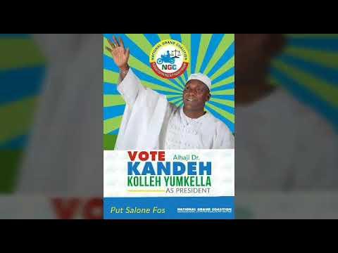 KANDEH KOLLEH YUMKELLA Sierra Leone Election 2017
