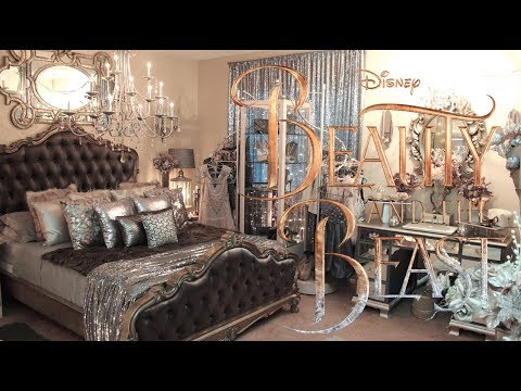 beauty and the beast room tour - youtube