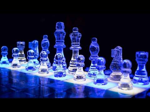 Необычные шахматы из эпоксидной смолы своими руками