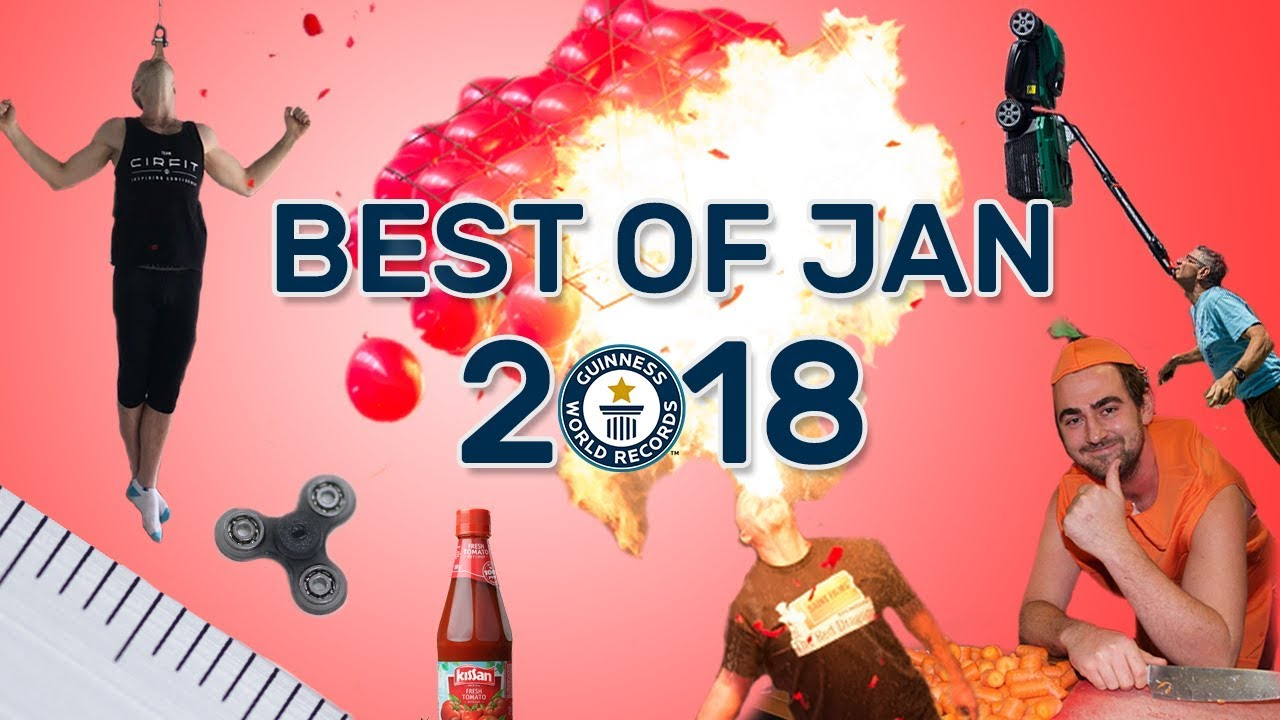 best of january 2018 guinness world records youtube. Black Bedroom Furniture Sets. Home Design Ideas