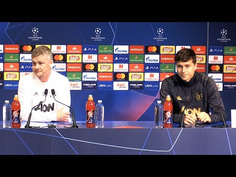 Ole Gunnar Solskjaer & Victor Lindelof Full Pre-Match Press Conference - PSG v Manchester United