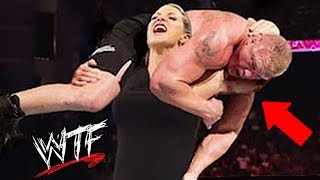 10 MOST INSANE WWE Man VS Woman Matches Ever
