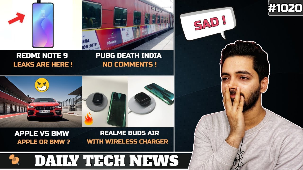 Redmi Note 9pubg Death Indiawhatsapp Support Endsapple Vs Bmwoppo Budsmi Mix 4 Launch 1020