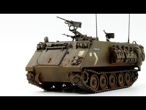 M113 APC 1/35 Scale Model Armor Build Video