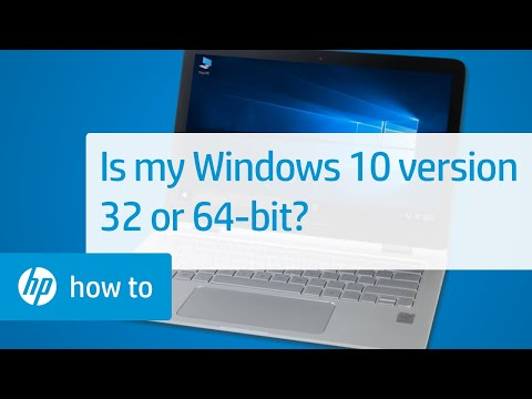 Is My Windows 10 Version 32-bit or 64-bit?