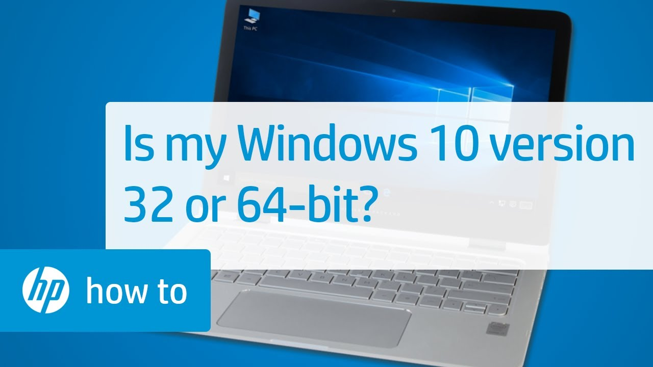 How to know how many bits of Windows 57