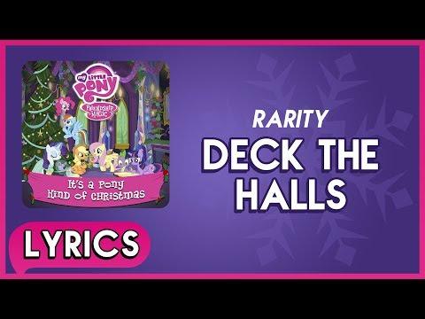 Rarity - Deck the Halls (Lyrics) - MLP: It's a Pony Kind of Christmas (Album) [HD]