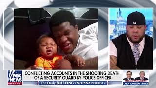 Tyrus on the shooting death of security guard Jemel Roberson on @daily briefing with dana perino l