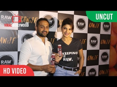 UNCUT - Jacqueline Fernandez As The Investor For Raw Pressery | Rawxjf