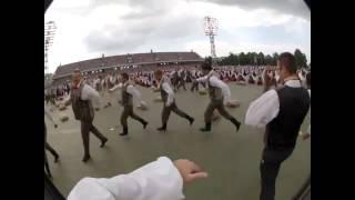Latvian dance - Es Bij Puika Man Bij Vara - Tēvu laipas