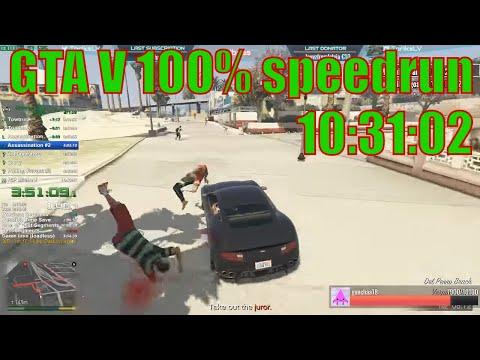 [WR] GTA V 100% 10:31:02 speedrun