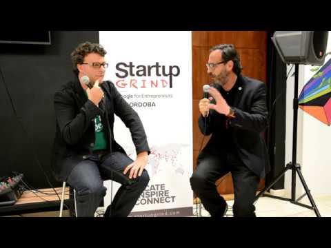 Startup Grind host Federico Ast - The Blockchain Revolution