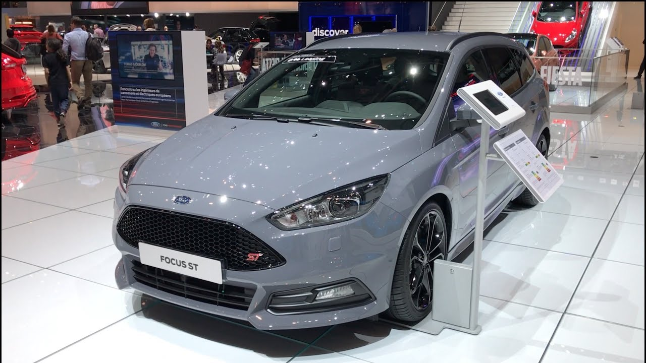ford focus st turnier 2017 in detail review walkaround. Black Bedroom Furniture Sets. Home Design Ideas