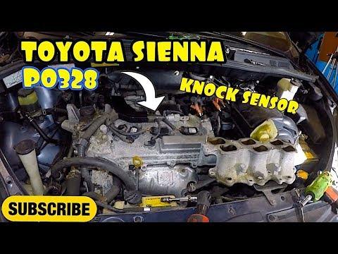 Toyota Sienna KNOCK SENSOR P0328 Bank 1 Bank 2