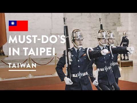 TAIWAN MUST DO - TAIPEI 101 & CHIANG KAI SHEK MEMORIAL HALL | Travel Vlog 114, 2018 | Taiwan